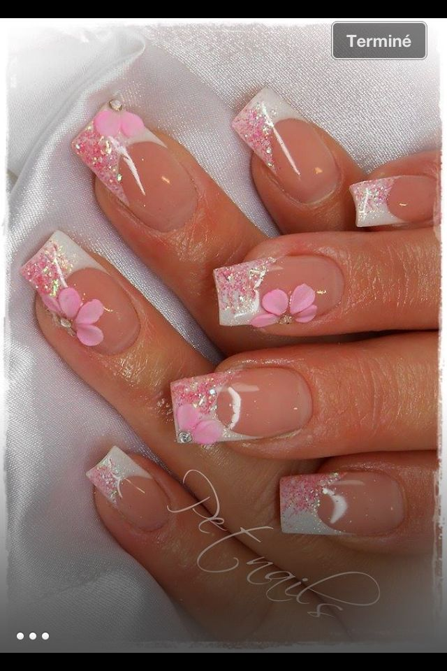 Nails by Pet Nails♥♥ | Jackie | Pinterest | Manicure, Spring nails ...