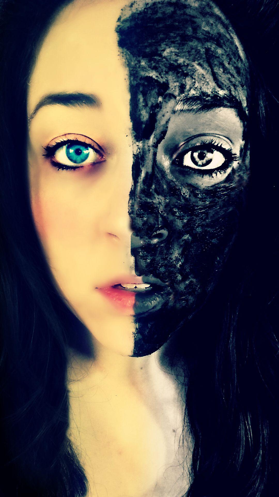 """Original artwork """"Two Faced"""""""