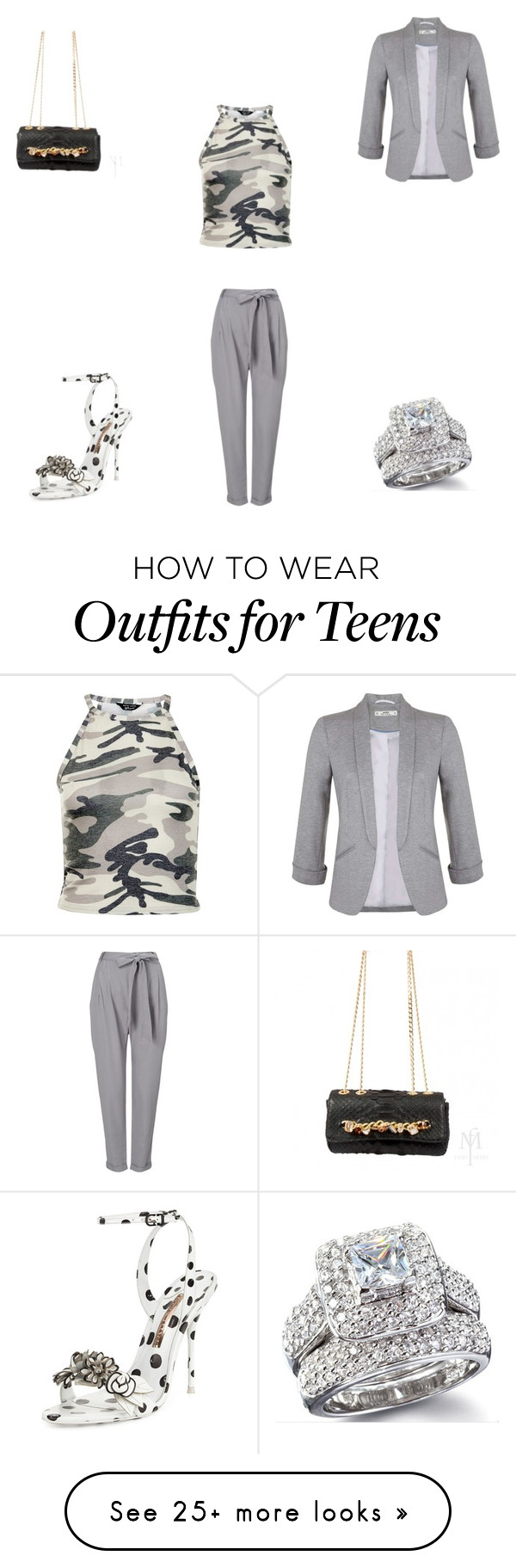 """""""Untitled #1013"""" by panicsam on Polyvore featuring Phase Eight, New Look, Miss Selfridge and Sophia Webster"""