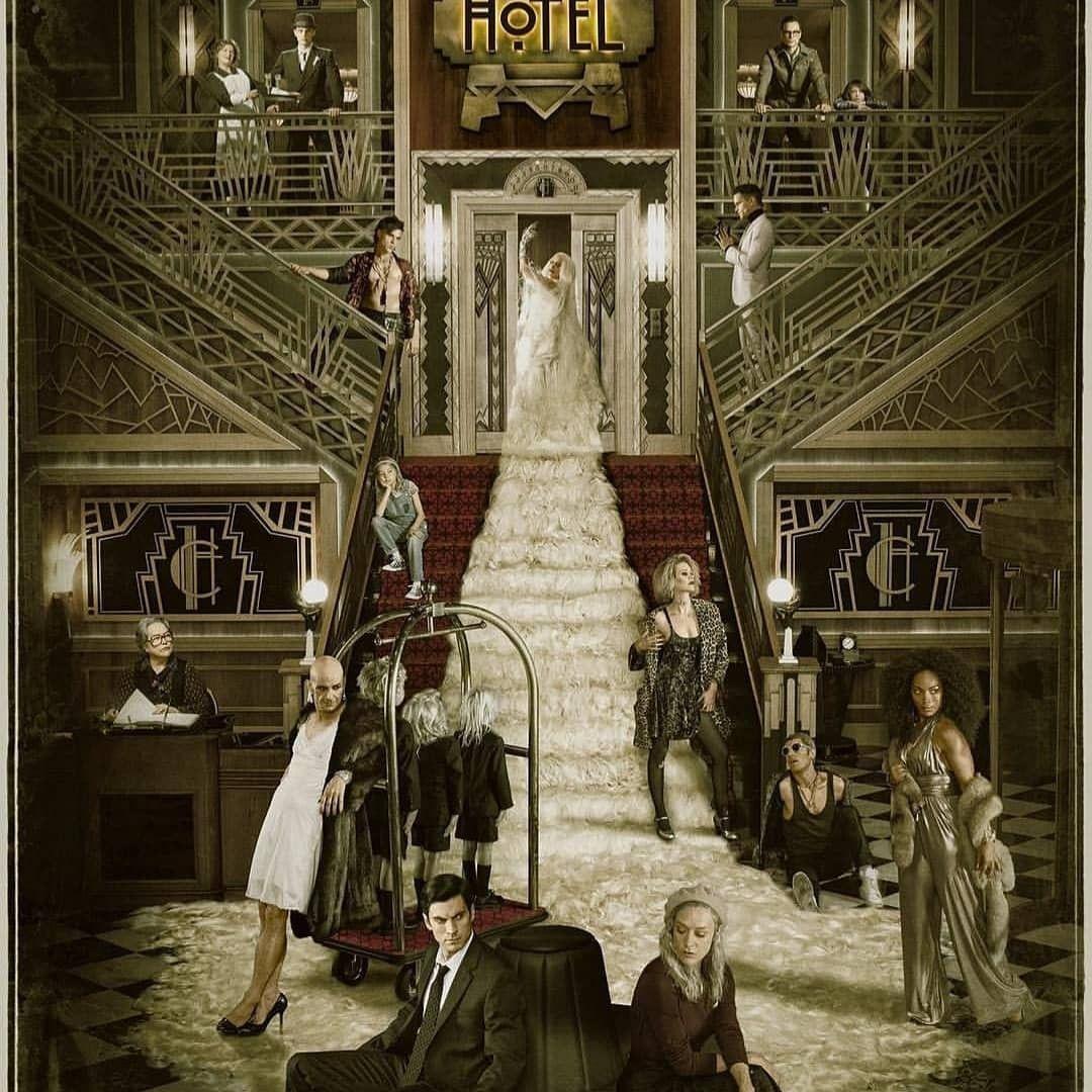 Hotel Theme Com Imagens American Horror Story Hotel American