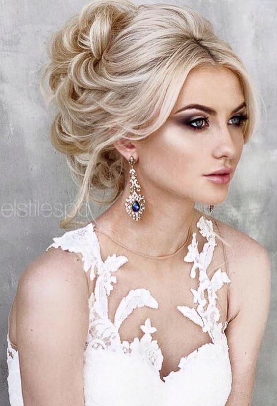 Wedding Hairstyle Inspiration Updos Pinterest Cabello Estilos