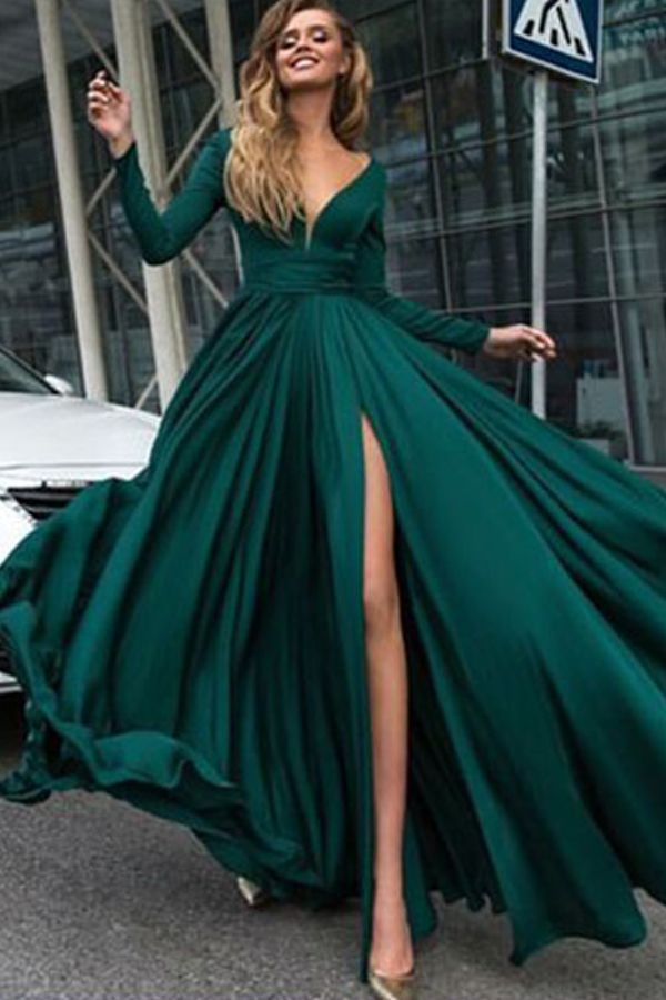 ed50164295 Luxurious Beaded Halter Long Satin Prom Dresses Ball Gowns in 2019 | Girl | Prom  dresses long with sleeves, Chiffon evening dresses, Ball gowns