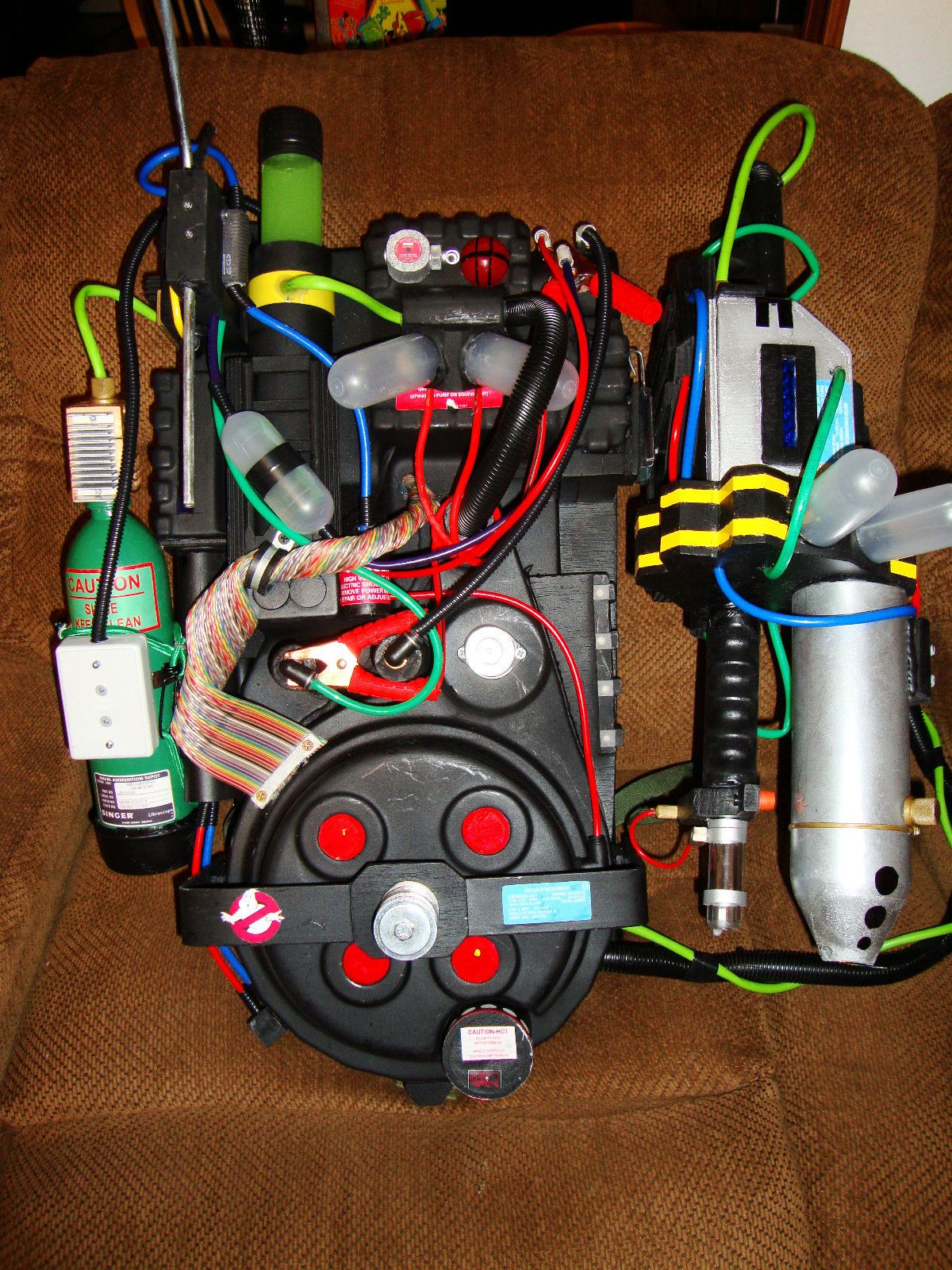 Ghostbusters proton pack prop replica video game style w