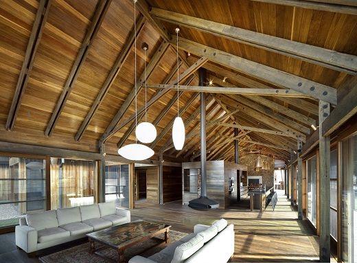 Dise o de casa de campo decoracion de interiores casa de for Diseno de interiores de casas planos