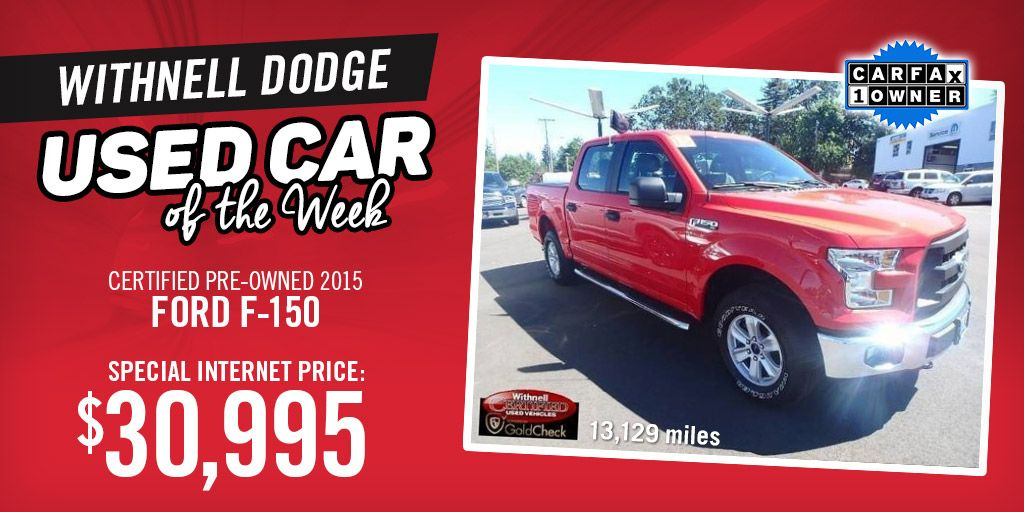This CPO 2015 Ford F-150 is a can't-miss!