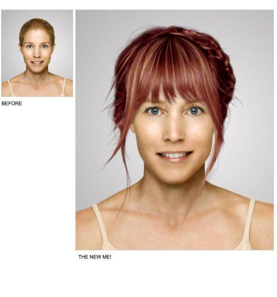 Virtual Hair Makeover: Virtual Makeover, Hair Styles, Celebrity