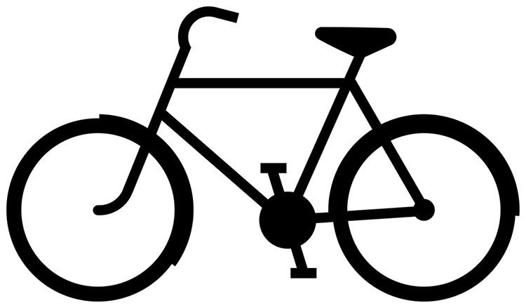 Resultado De Imagen Para Imagen Bicicleta Animada Siluetas De Motos Silueta Bicicleta Bicicleta Dibujo
