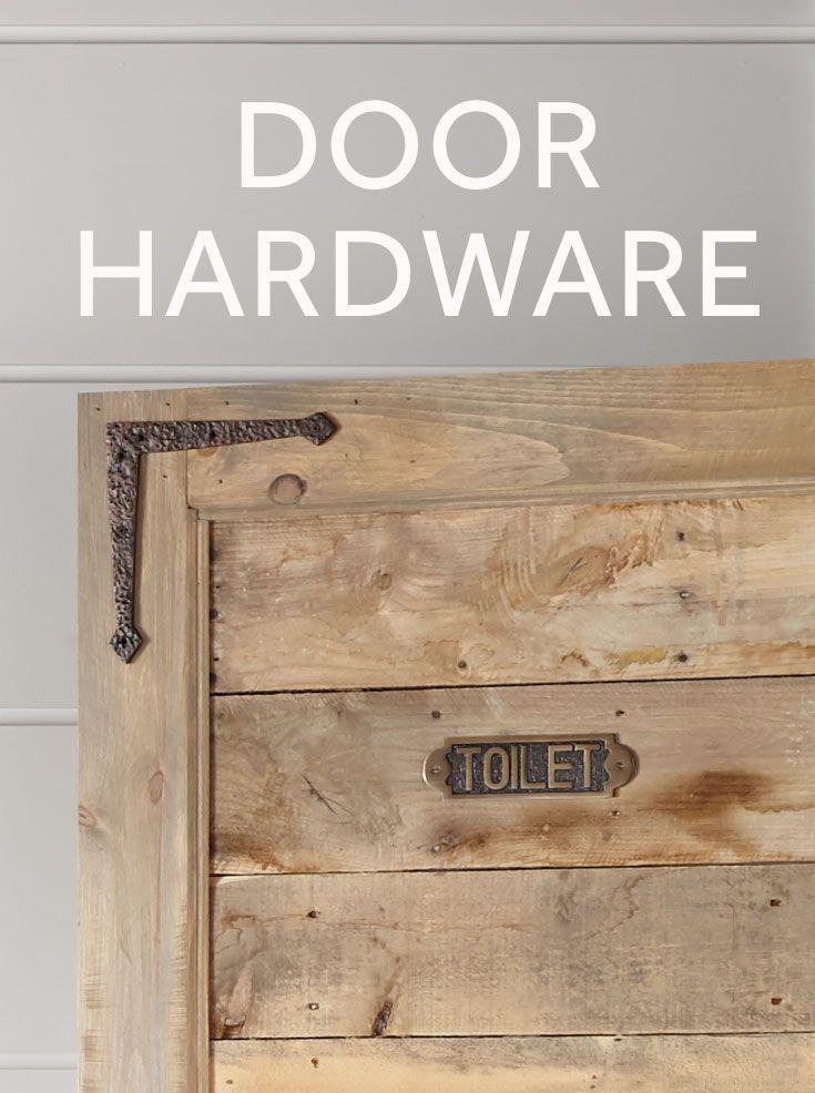 Add Some Rustic Flair To Your Doors With Decorative Hinges And Strap Hinges Barn Door Hardware Is A Simple Way Barn Door Projects Barn Door Hanging Barn Doors