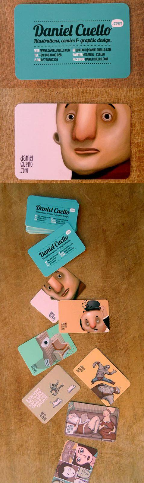 business #card Business Card for Illustrator by Daniel Cuello via ...
