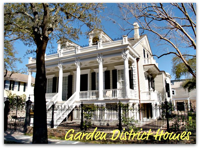 Garden District in New Orleans, LA - the neighborhood where I am ...