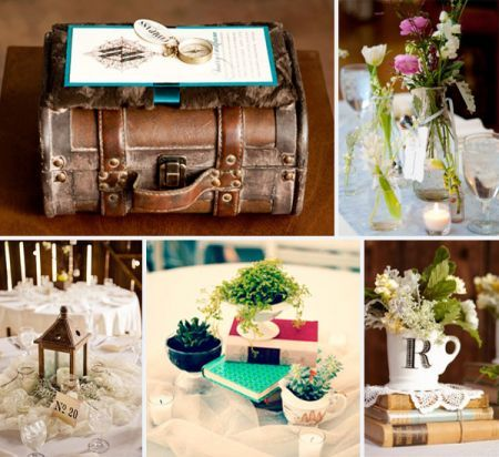 Love the idea of having a travel themed wedding suitcase in the love the idea of having a travel themed wedding suitcase in the top left is junglespirit Images