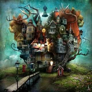 La imaginación no  tiene  límite ^_^