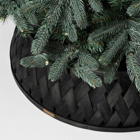 Tree Stand Collar Black Hearth Hand With Magnolia 35 Christmas Tree Base Tree Collar Cool Christmas Trees