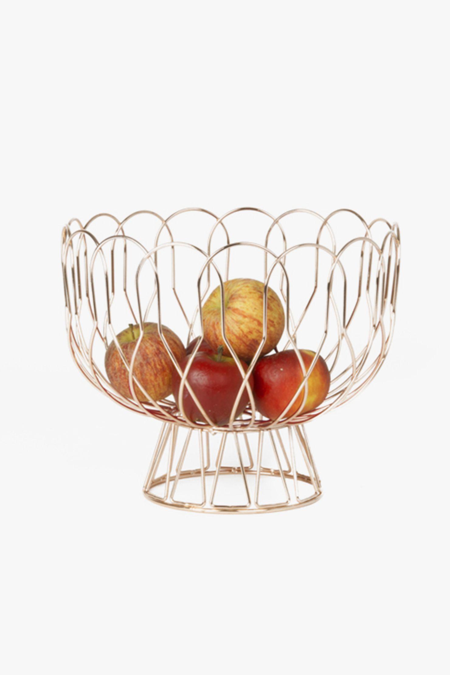 22 euros corbeille fruits m tal cuivr ikea cie. Black Bedroom Furniture Sets. Home Design Ideas