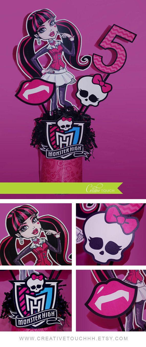Monster High Birthday, Monster High Birthday Party Ideas, Monster ...