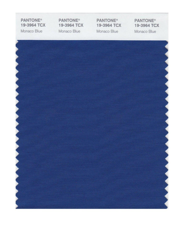 Pantone 19-3964 TCX смарт-карт образец цвета, Монако Blue - Amazon.com
