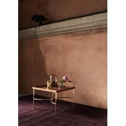 Photo of Aytm Unity side table oak gold Aytmaytm