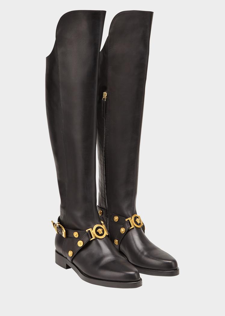 detaljerade bilder halva priset billigaste priset Knee-High Tribute Flat Boots for Women | US Online Store | Boots ...