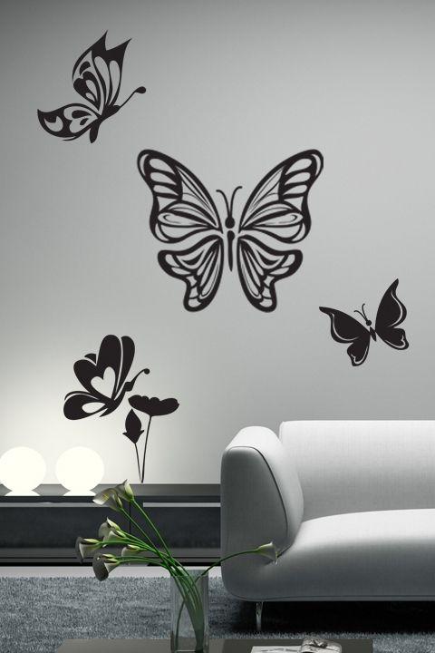 Butterfly flight wall decals wall stickers art without boundaries walltat com