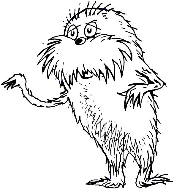 Image result for dr seuss line drawing