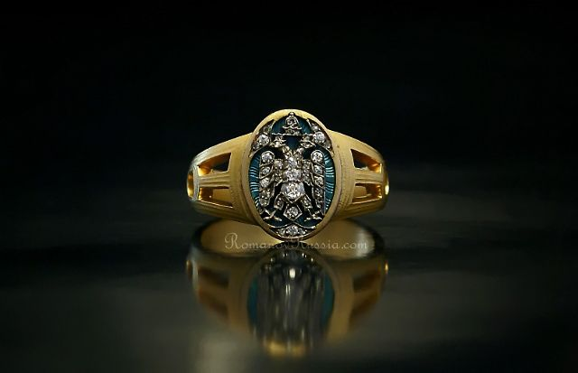 Faberge Russian Imperial Ring