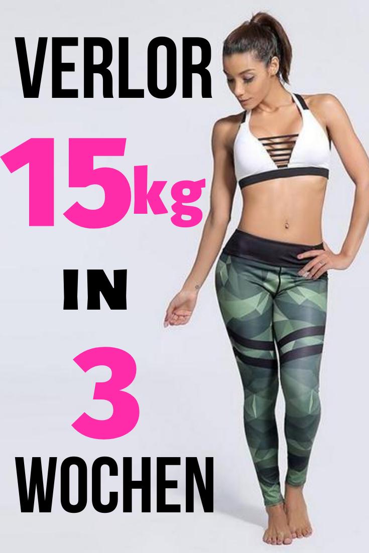 Wie man in nur 1 Tag Gewicht verliert
