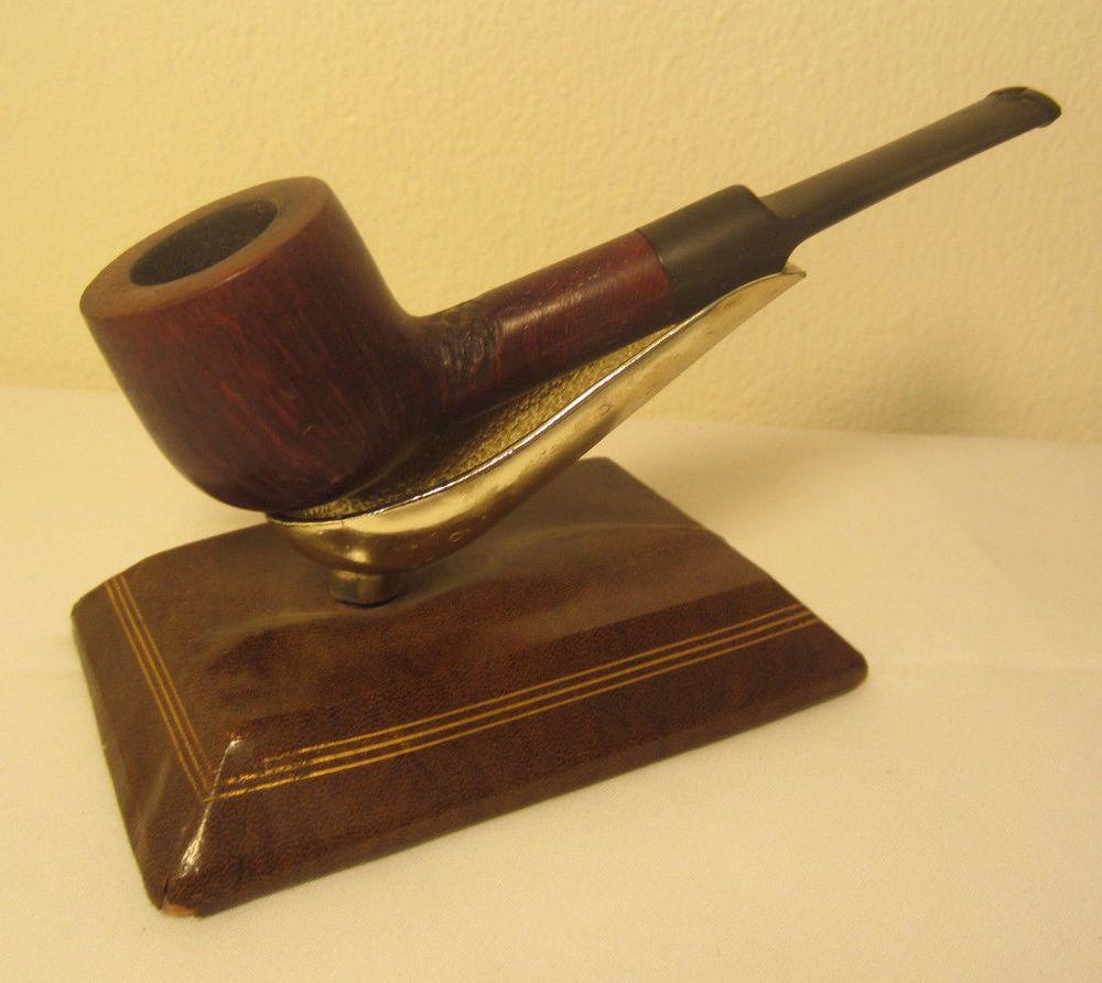 Peterson Shamrock Rustic Straight Pot Briar Estate Tobacco Smoking Pipe #6068