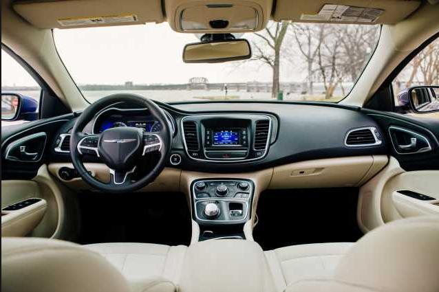2017 Chrysler 200 S Interior
