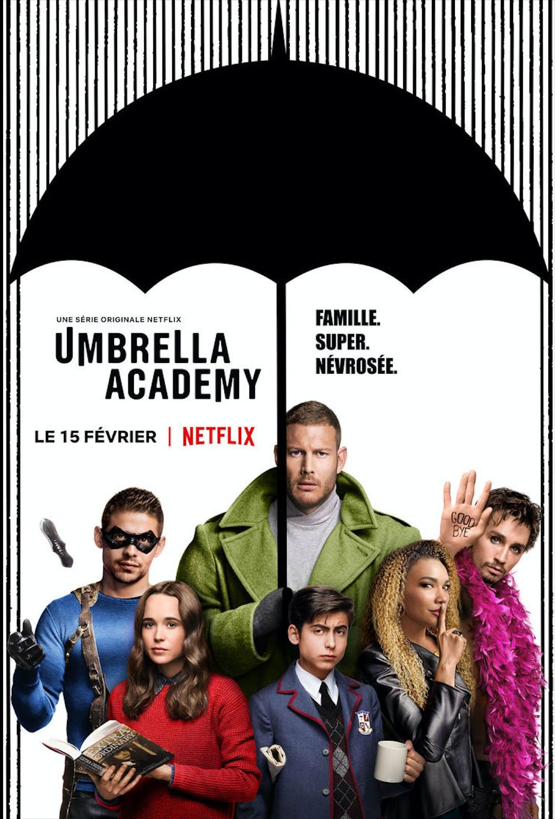 Umbrella Academy Saison 1 Steve Blackman (d'après