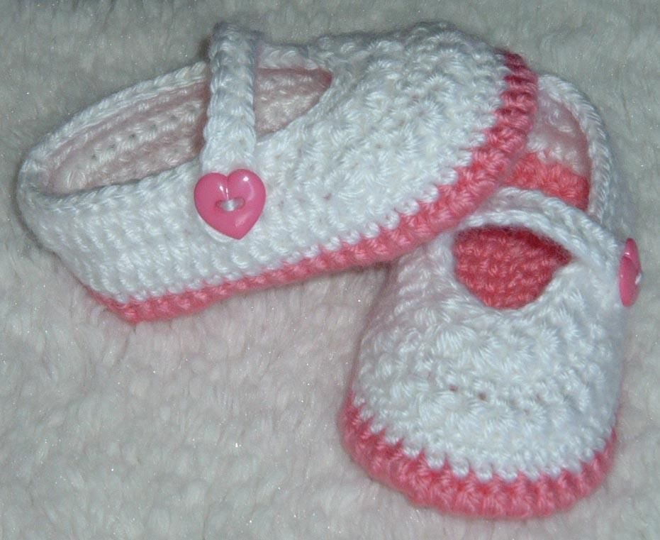 Star Stitch Baby Mary Jane Shoes | Baby shoes pattern, Mary janes ...
