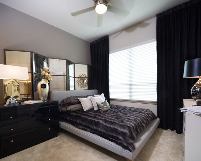 Black and White Bedroom Design Irving TX Apartments Rent - rent rebate form