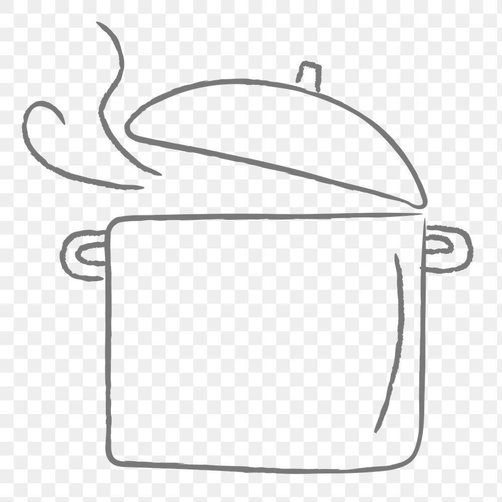 Doodle Cooking Pot Design Element Free Image By Rawpixel Com Nunny Doodles Pot Designs Design Element