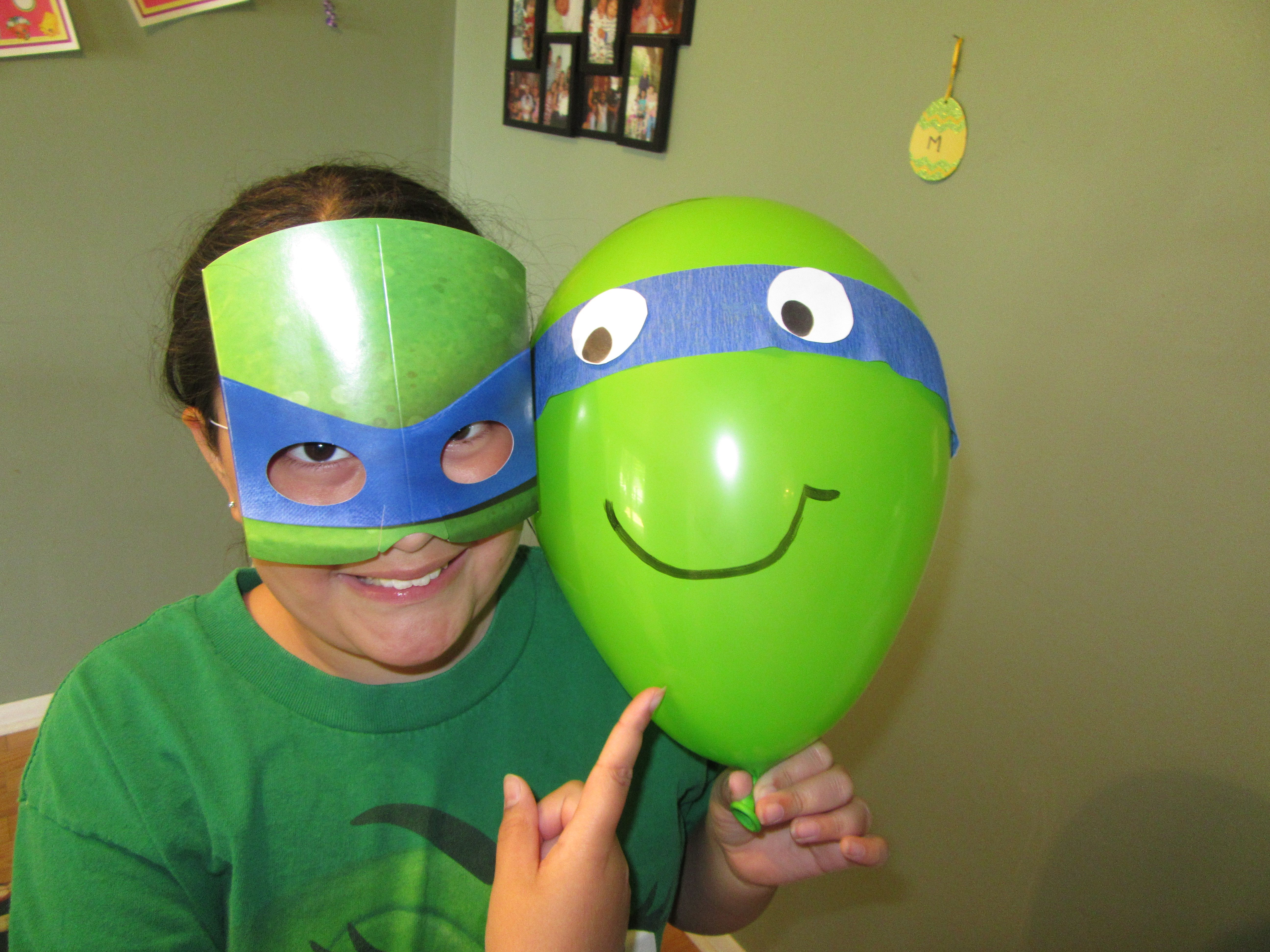 Quick, cheap and EASY TMNT decor!