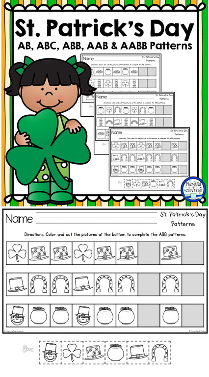 March & St. Patrick\'s Day Centers