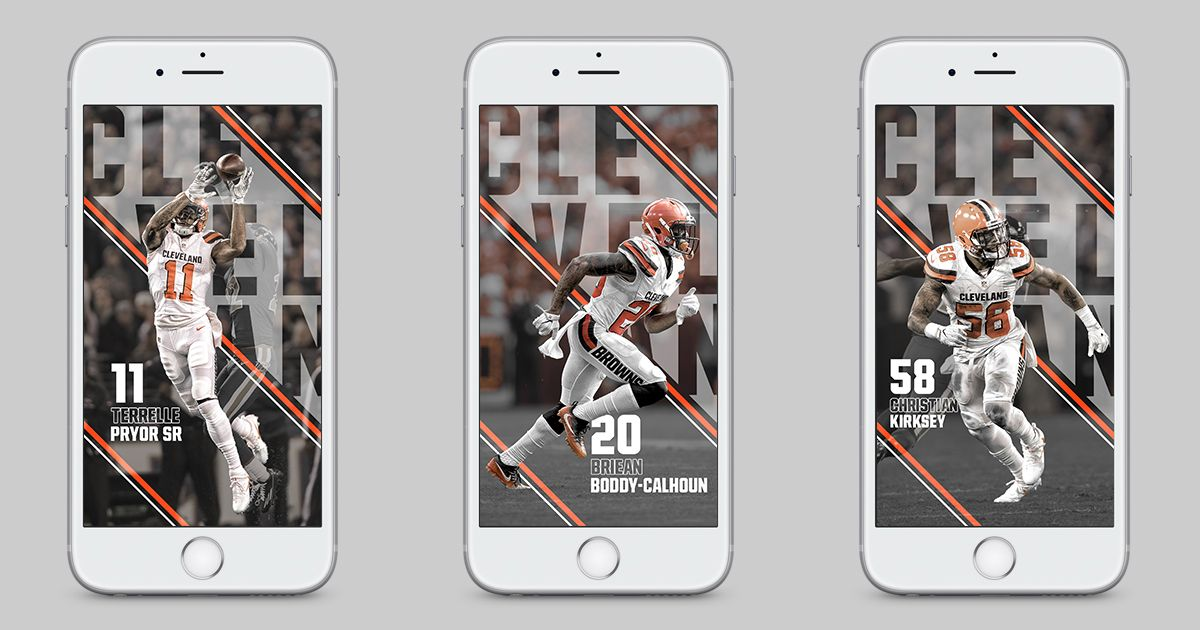IPhone Wallpapers Released Weekly On The Cleveland Browns