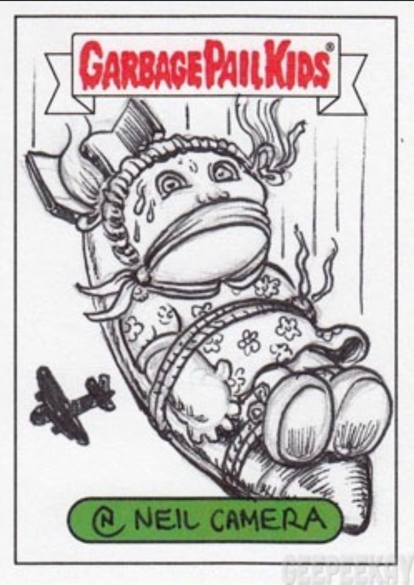 Pin By Natura On Garbage Pail Kids Sticker Patches Garbage Pail Kids Collectible Cards