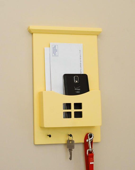Mail Organizer Wall Organizer Mail Holder Key Rack Key | Present ...