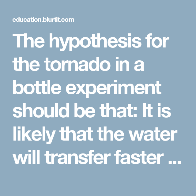 forming a hypothesis for a research paper What is the importance of hypotheses in research in order to form a theory no doubt, sometime hypothesis may be a negative a research paper.