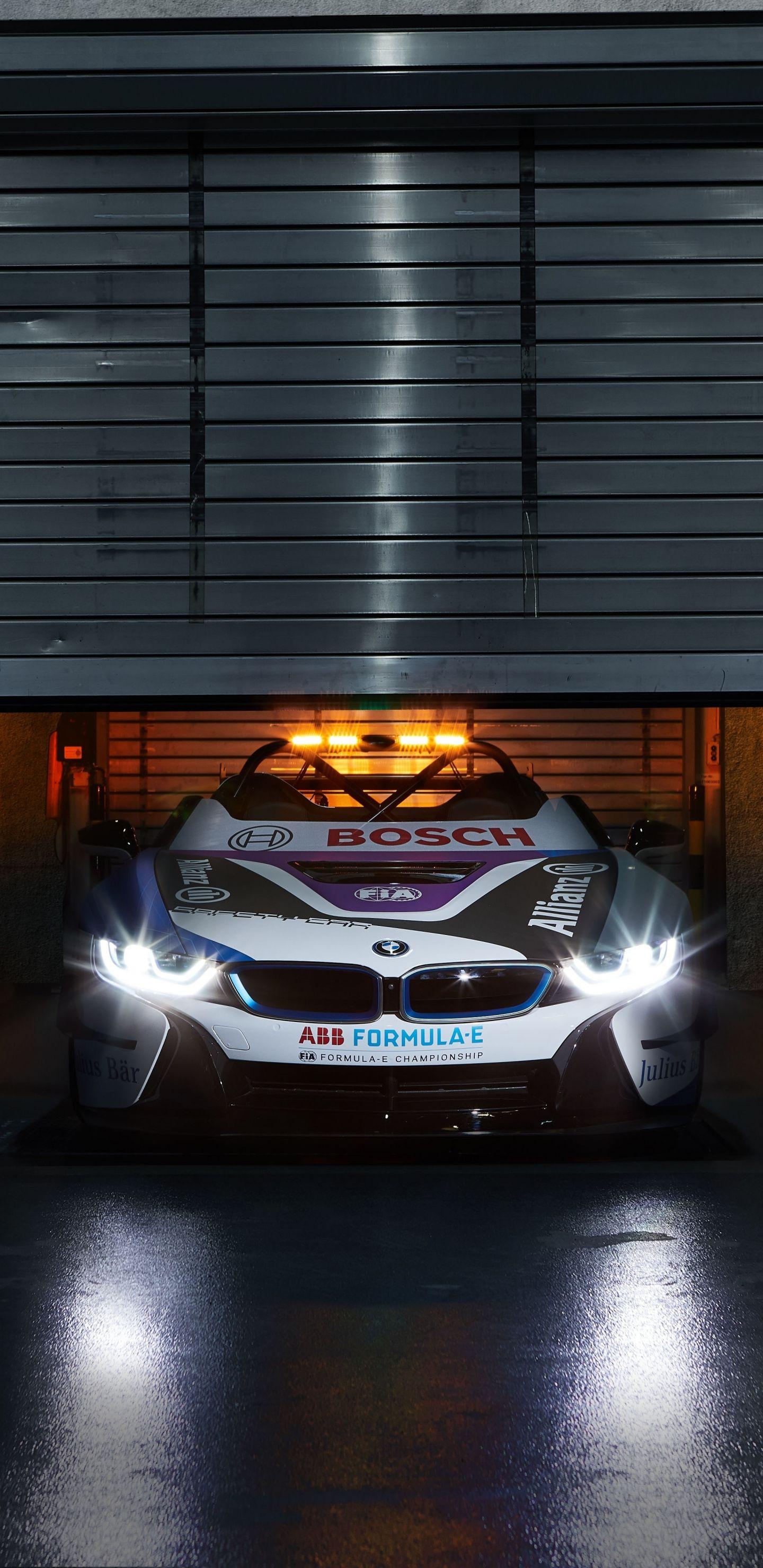 1440x2960 Bmw I8 Roadster Formula E Safety Car Wallpaper Car