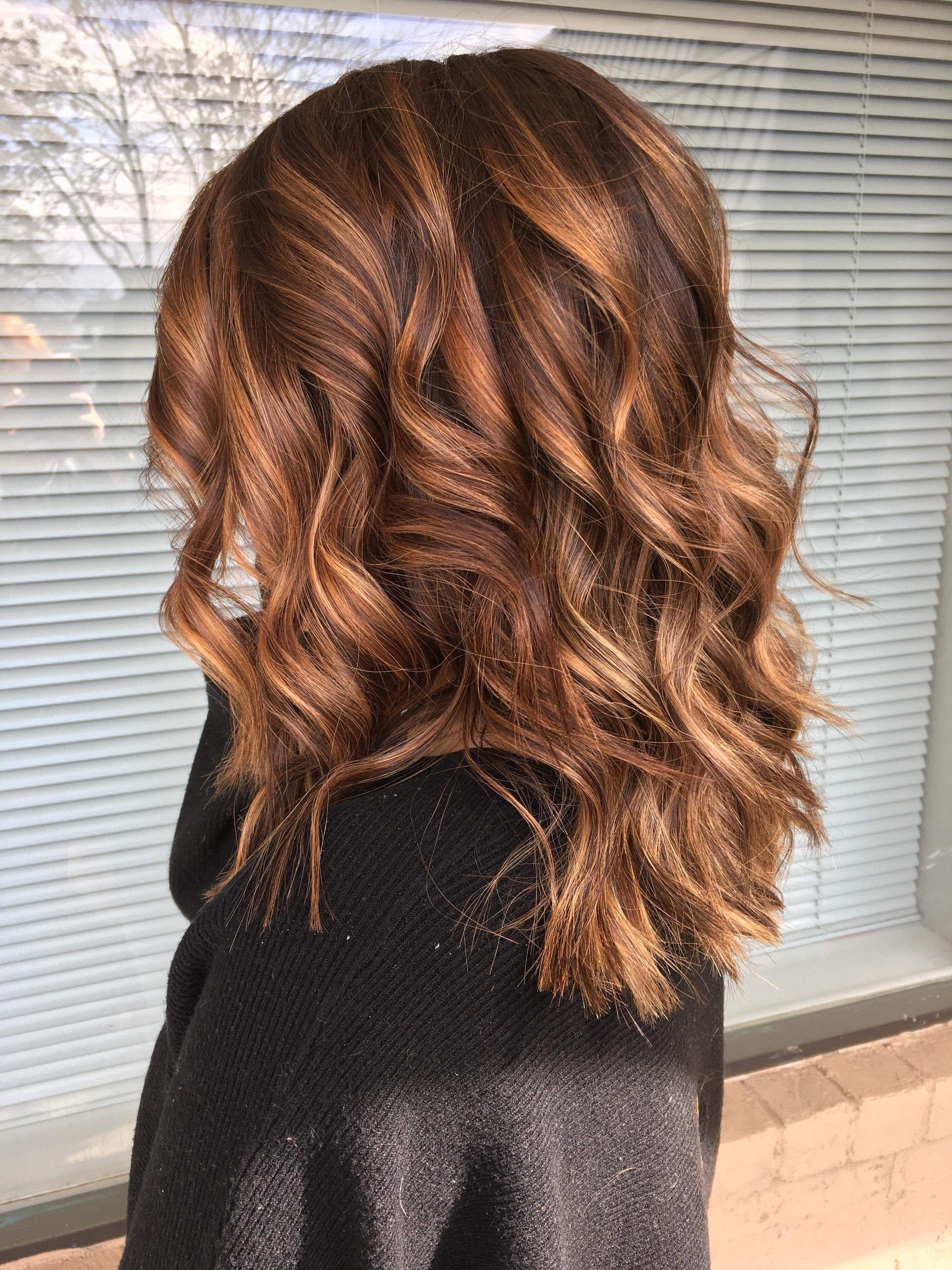 Fun Flirty Hair Baylage Blonde Brown Hairstyles Shorthair