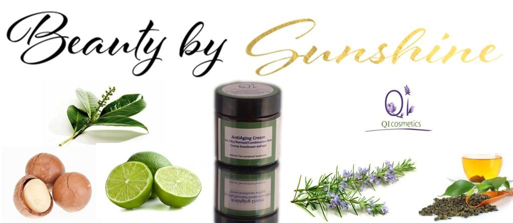 AntiAging Cream for Oily/Normal/Combination Skin Qi Cosmetics