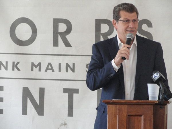 Geno's Coming to Storrs Center | Storrs Center Alliance, LLC recently announced that Geno Auriemma will open a restaurant in Storrs Center, the new mixed-use, pedestrian-oriented downtown under construction in Mansfield, Connecticut.