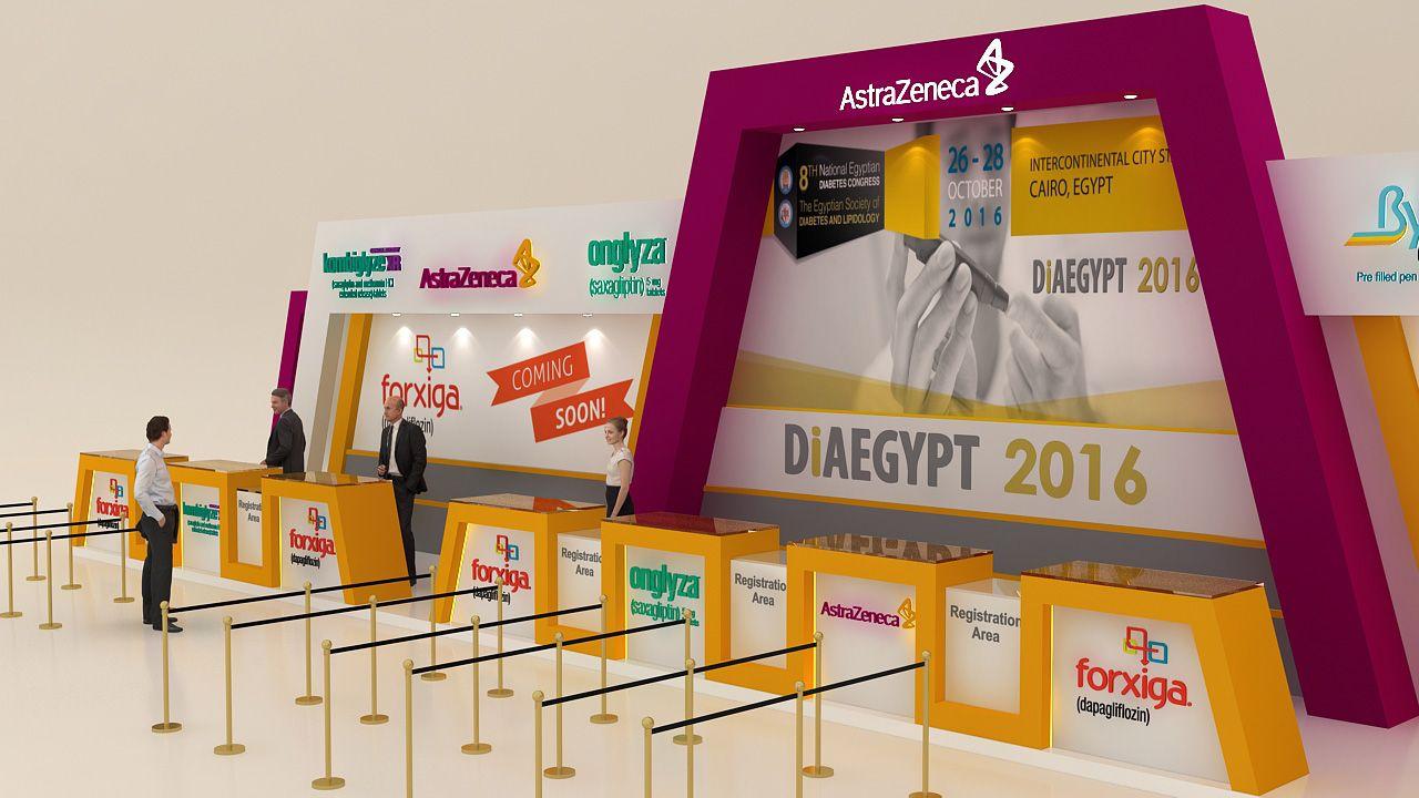 Diaegypt 2016 Event Registration Deskastrazeneca Exhibition Exhibition Booth Event Registration Registration