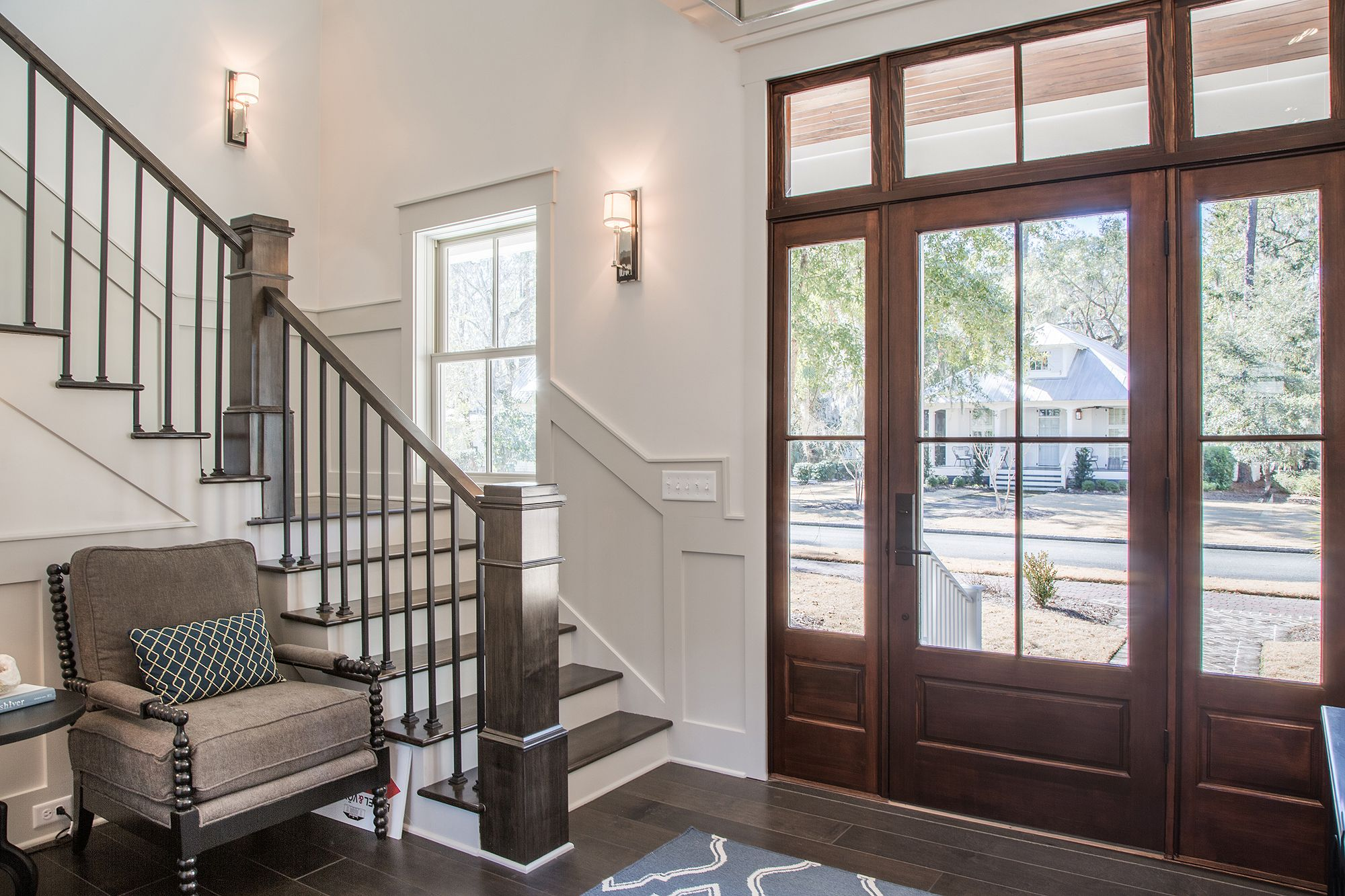 Beautiful Foyer | Grand Entrance | Southern Style Interior Design |  Lowcountry Living | Luxury Real