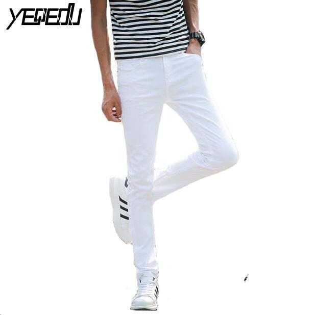 Stretch Light Skinny 1411 Men Teens Bluewhite Jeans Summer g8FZ7q