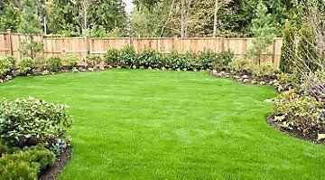 rsultats de recherche dimages pour landscaping along fence