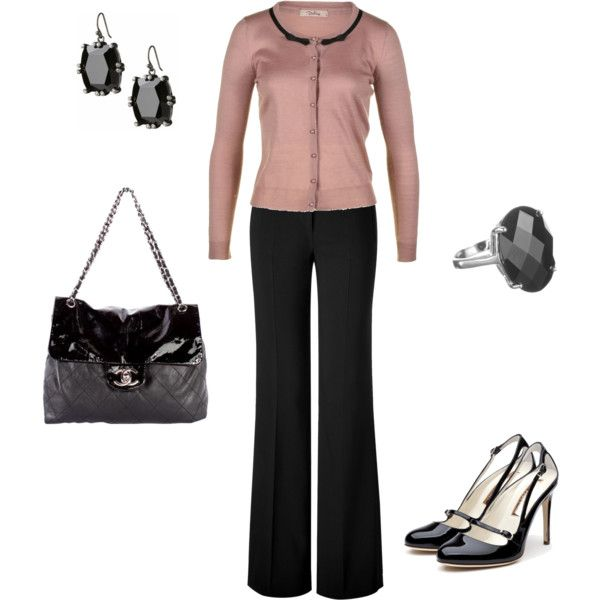 """""""Rose Work Outfit"""" by ggdesigns on Polyvore"""