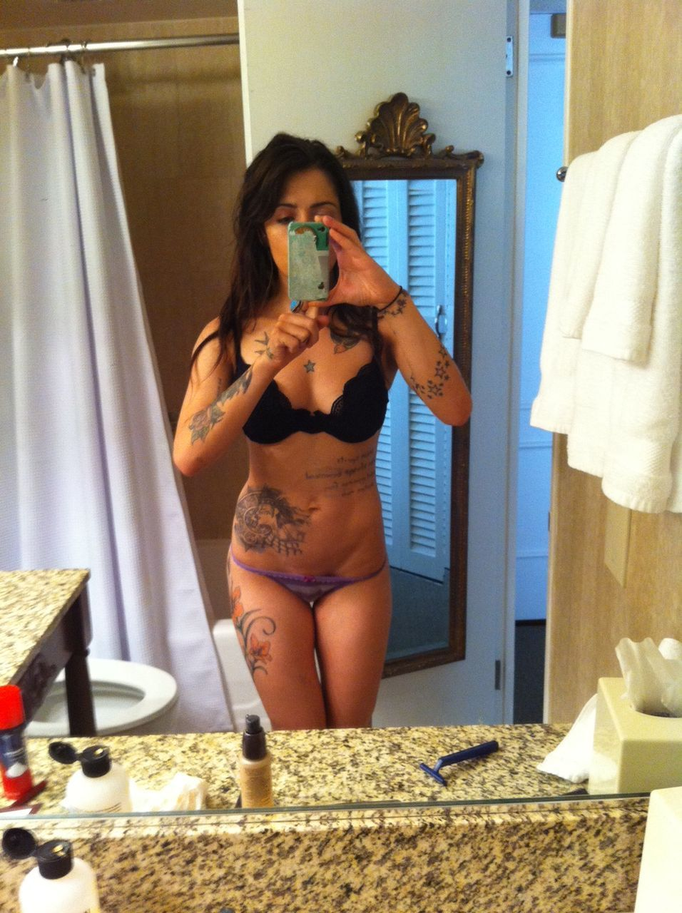 Bikini girl and kara