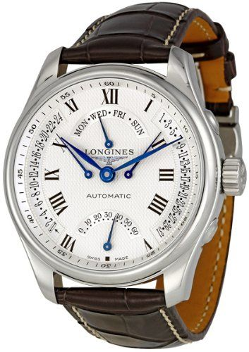 Longines Master Collection Silver Dial GMT Automatic Mens Watch L27174713 Longines,http://www.amazon.com/dp/B005OP3PCQ/ref=cm_sw_r_pi_dp_sdgcsb0X97G6MWME