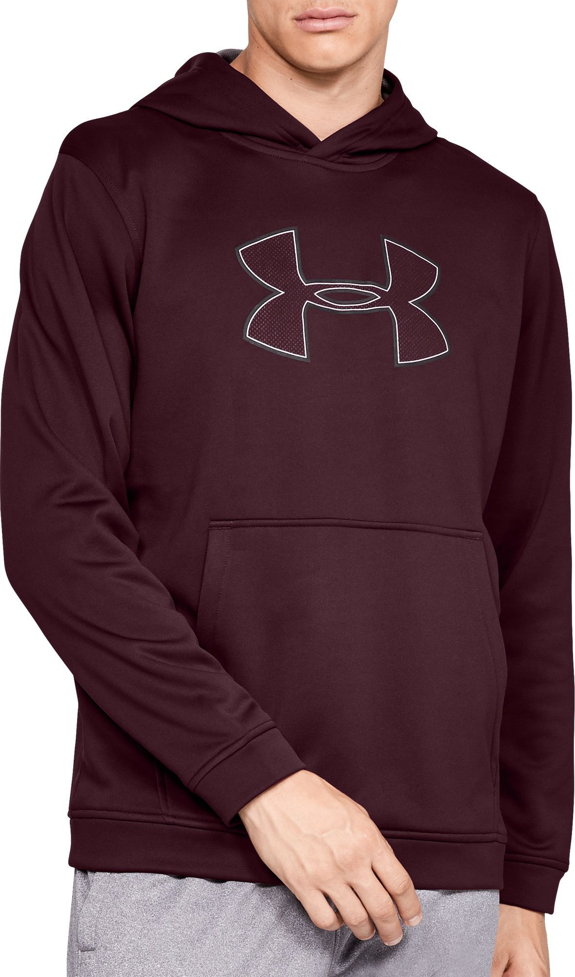 1f28e2a2a Under Armour Men's Performance Fleece Graphic Hoodie, Size: Small ...